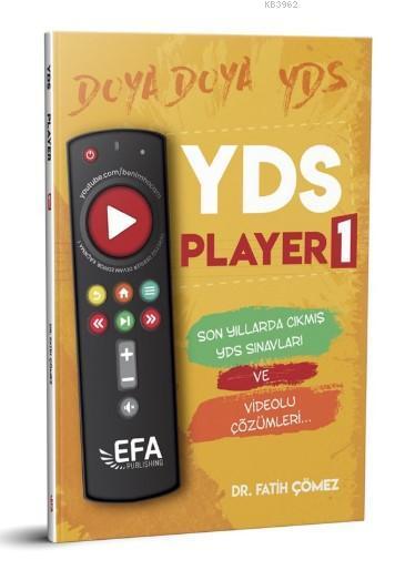 YDS Player 1 Son Yıllarda Çıkmış YDS Sınavları Benim Hocam Yayınları (EFA Serisi)