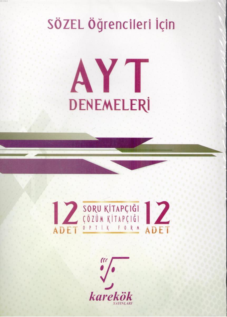 AYT 12'li Deneme Seti - Sözel