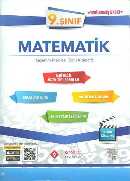 Sonuç Yayınları 9. Sınıf Matematik Set