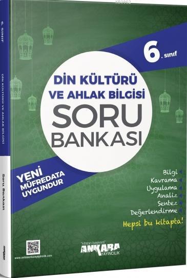 6.Sınıf Din Kültürü ve Ahlak Bilgisi Soru Bankası Ankara Yayıncılık