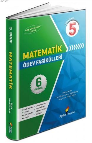 Aydın Yayınları 5. Sınıf Matematik Ödev Fasikülleri Aydın