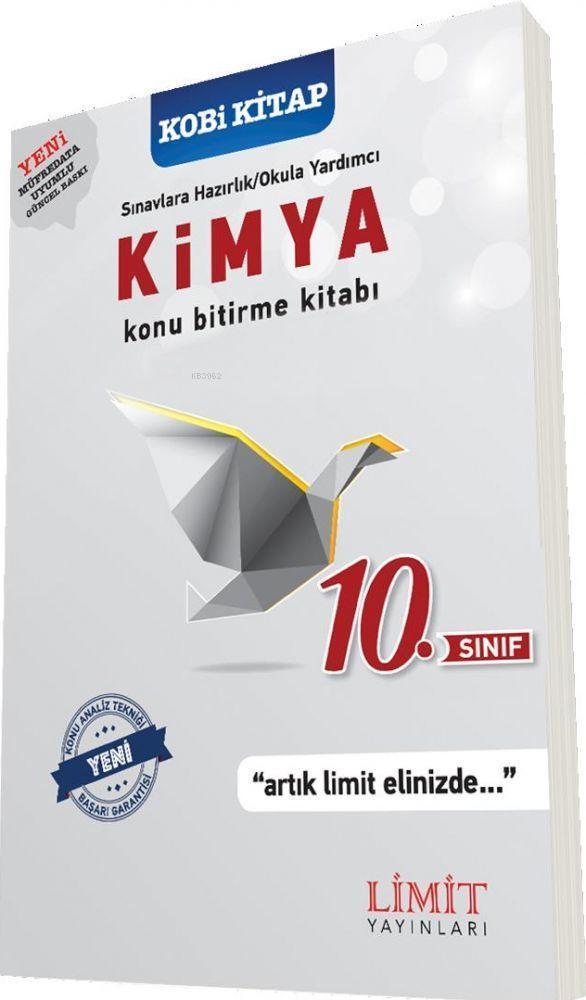 Limit Yayınları 10. Sınıf Kimya Konu Bitirme Kitabı Limit