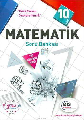 EİS Yayınları 10. Sınıf Matematik Soru Bankası EİS