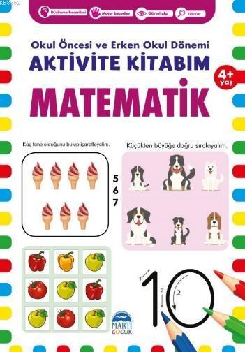 Aktivite Kitabım -Matematik ( 4+ Yaş )