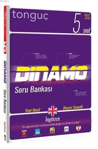 Tonguç 5.Sınıf İngilizce Dinamo Soru Bankası