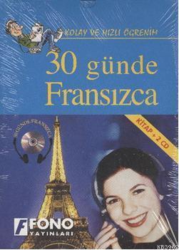 30 Günde Fransızca; Kitap+3 Cd