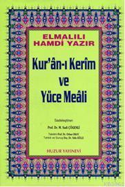 Kuran-ı Kerim ve Yüce Meali - Rahle Boy; Hafız Osman Hatlı