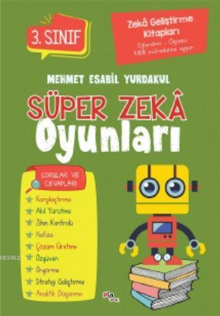 Süper Zeka Oyunları 3.Sınıf; Zeka Geliştirme Kitapları