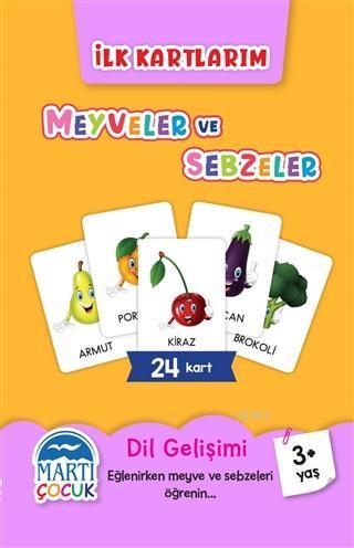 İlk Kartlarım - Meyveler ve Sebzeler