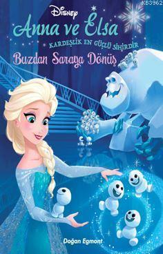 Disney Karlar Ülkesi̇ Anna ve Elsa Buzdan Saraya Dönüş