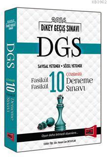 DGS Fasikül Fasikül 10 Çözümlü Deneme Sınavı 2016
