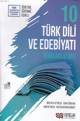 Nitelik Yayınları 10. Sınıf Türk Dili ve Edebiyatı Konu Anlatımlı Nitelik