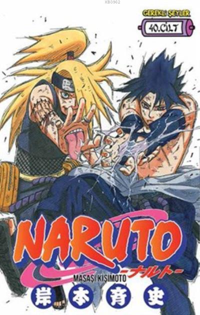 Naruto Cilt 40