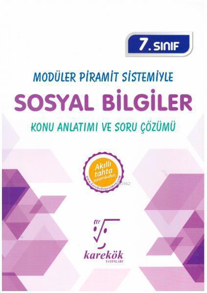 Karekök Yayınları 7. Sınıf Sosyal Bilgiler Konu Anlatımı ve Soru Çözümü