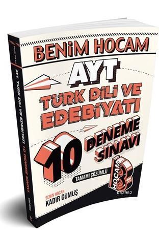 Benim Hocam Yayınları AYT Türk Dili ve Edebiyatı 10 Deneme Sınavı Benim Hocam