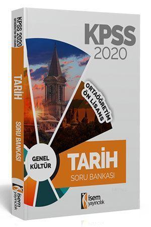 İsem Yayınları 2020 KPSS Ortaöğretim Ön Lisans Tarih Soru Bankası