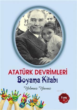 Atatürk Devrimleri Boyama Kitabı