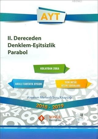 AYT 2. Dereceden Denklem Eşitsizlik Parabol
