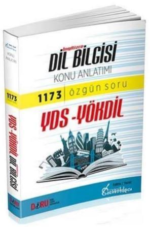 Doru YDS YÖKDİL İngilizce Dil Bilgisi Konu Anlatımlı Soru Bankası