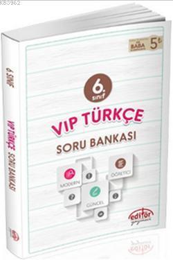 6.Sınıf Vip Türkçe Soru Bankası