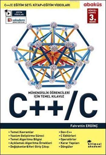 C++/C (Video Eğitim seti Hediyeli); Mühendislik Öğrencileri İçin Temel Kılavuz