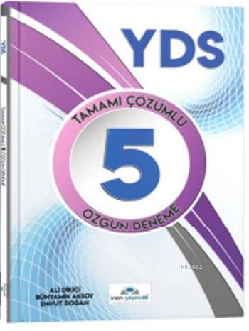 YDS Tamamı Çözümlü 5 Özgün Deneme
