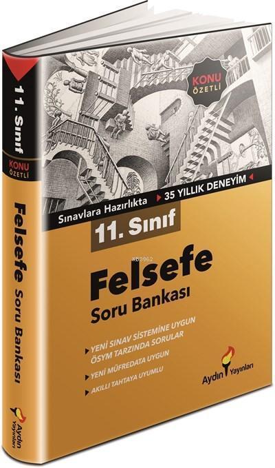 Aydın Yayınları 11. Sınıf Felsefe Konu Özetli Soru Bankası Aydın