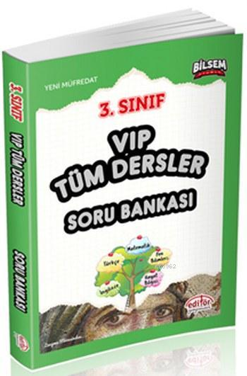 Editör 3. Sınıf VIP Tüm Dersler Soru Bankası