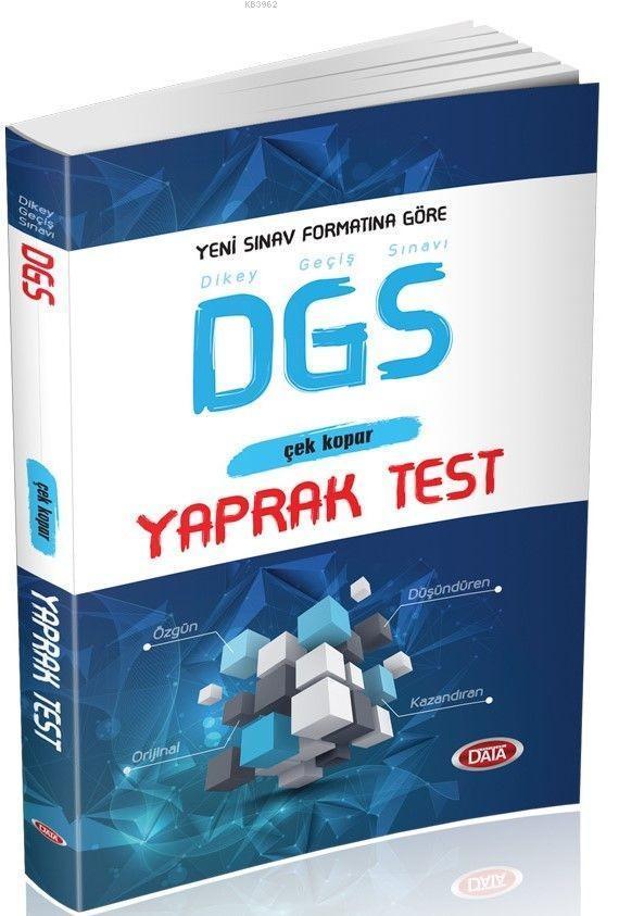 Data Yayınları DGS Yaprak Test