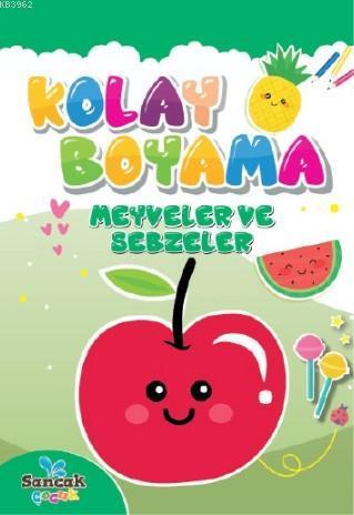 Meyveler ve Sebzeler; Kolay Boyama