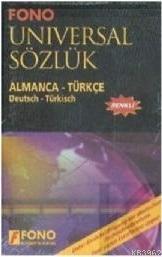 Fono Almanca - Türkçe Universal Büyük Sözlük