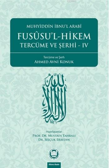 Fusûsu'l-Hikem Tercüme ve Şerhi 4