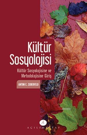 Kültür Sosyolojisi; Kültür Sosyolojisine ve Metodolojisine Giris