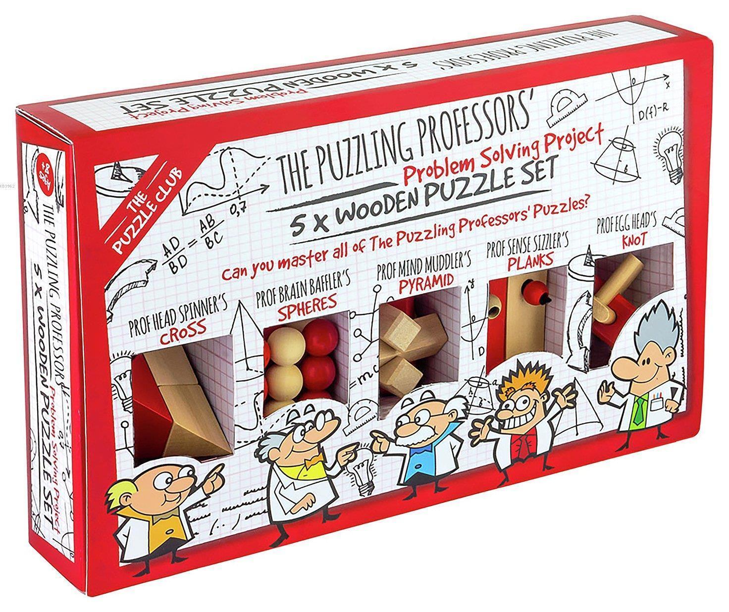 Wooden Puzzle Set