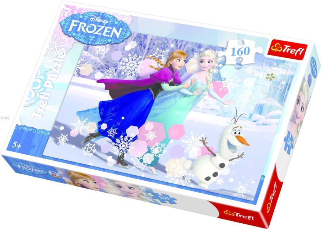 Trefl Puzzle 15317 Frozen Ice Skating 160 Parça