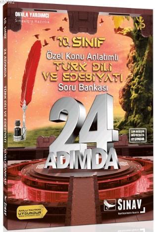 2019 8. Sınıf 24 Adımda Türk Dili ve Edebiyatı Özel Konu Anlatımlı Soru Bankası