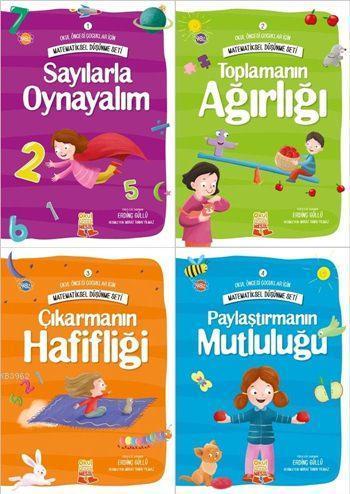 Matematiksel Düşünme Seti (4 Kitap); Okul Öncesi Çocuklar İçin Matematiksel Düşünme Serisi