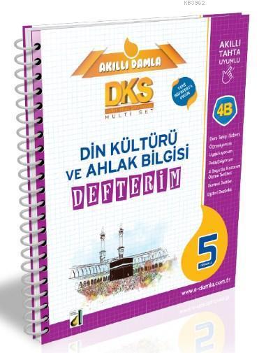 DKS 4B Din Kültürü ve Ahlak Bilgisi Defterim - 5. Sınıf