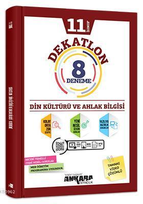 11.Sınıf Dekatlon Din Kültürü ve Ahlak Bilgisi 12 Deneme
