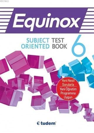 Tudem Yayınları 6. Sınıf İngilizce Equinox All in One Konu Anlatımı Tudem