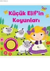 Küçük Elif'in Koyunları (Ciltli); Müzikli Kitap
