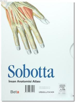 Sobotta İnsan Anatomisi Atlası (3 Cilt Takım)