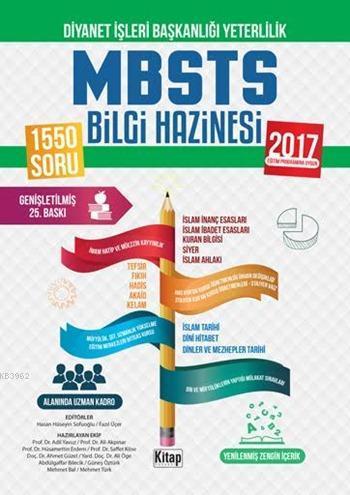 Diyanet İşleri Başkanlığı Yeterlilik DHBT - MBSTS Bilgi Hazinesi 2016; İHL ve Ön Lisans Öğrencileri İçin