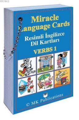 Miracle Language Cards - Verbs 1; Resimli İngilizce Dil Kartlar