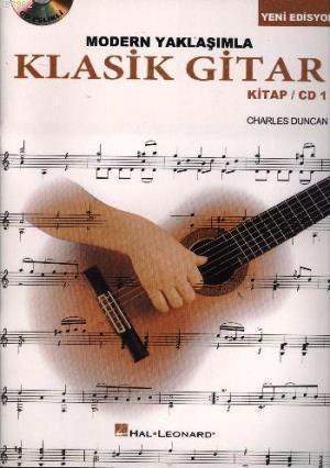 Modern Yaklaşımla Klasik Gitar Kitap CD 1