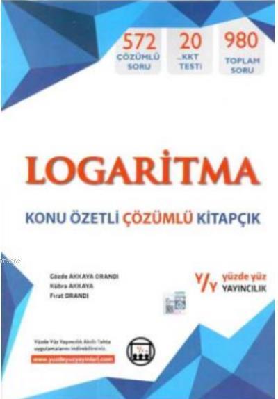 Logaritma Konu Özetli Çözümlü Kitapçık