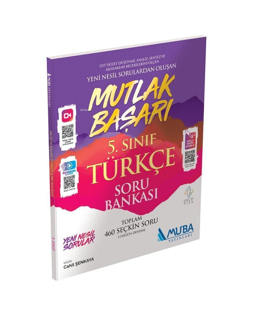 Muba Yayınları 5. Sınıf Türkçe Mutlak Başarı Soru Bankası Muba