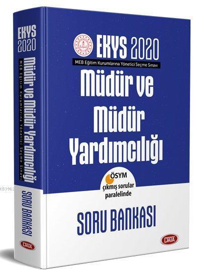 Data Yayınları 2020 EKYS MEB Müdür ve Müdür Yardımcılığı Soru Bankası