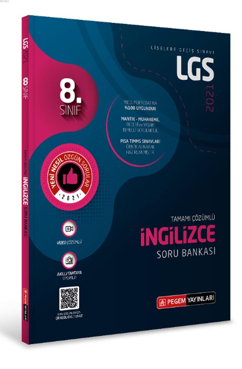 LGS İngilizce Tamamı Çözümlü Soru Bankası