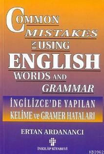 İngilizce'de Yapılan Kelime ve Gramer Hataları